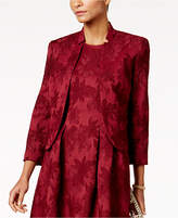 Nine West Floral-Jacquard Blazer