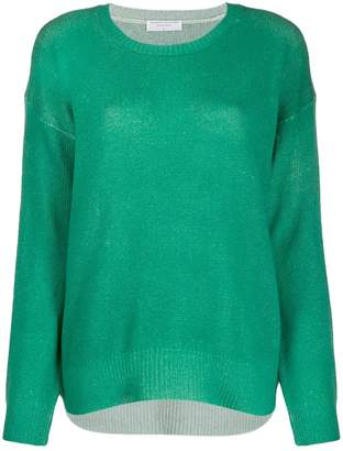 Majestic Filatures relaxed-fit knit jumper