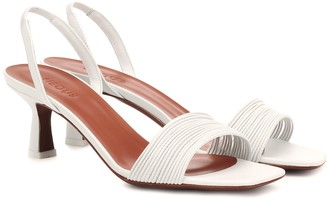 Neous Rossi leather slingback sandals