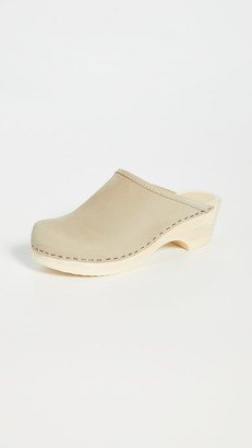 NO.6 STORE Valley Low Bast Clogs