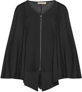 Isolde Roth Plus Size Zip detail cape
