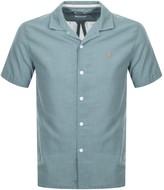 Farah Short Sleeved Archie Shirt Green