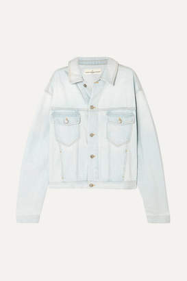 Golden Goose Demi Oversized Denim Jacket - Light denim