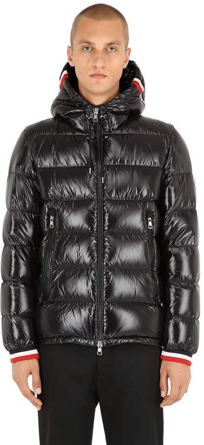Moncler Alberic Nylon Laqué Down Jacket