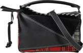 Loewe Puzzle Tartan Bag
