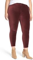 Melissa McCarthy Pencil Leg Velveteen Pants (Plus Size)