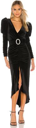 Ronny Kobo Alicia Velvet Dress