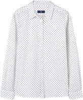 Gant Girl Broadcloth Stretch Dot Shirt