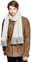 GUESS Two-Tone Winter Scarf