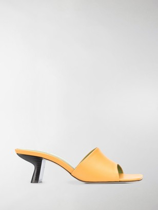 BY FAR Slip-On Low-Heel Mules