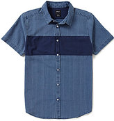 RVCA Slim Fit That'll Do Mix Short-Sleeve Shirt