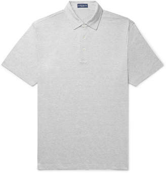 Peter Millar Excursionist Flex Space-Dyed Stretch Cotton And Modal-Blend Polo Shirt