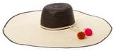 Corozon Pom Floppy Hat