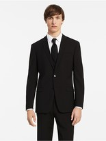 Calvin Klein X Fit Ultra Slim Fit Black Suit Jacket