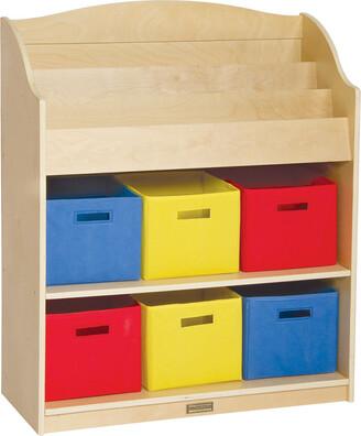 Guidecraft Book & Bin Storage