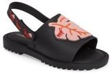 Mini Melissa Toddler Girl's Mia Fabula Sandal