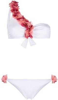 La Reveche Adele one-shoulder bikini