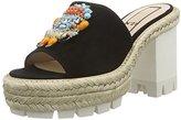 N. Unbekannt Women's 8787 Open Toe Sandals Black Size: 5