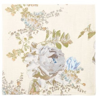 Preen by Thornton Bregazzi Set Of Four Floral-print Linen Napkins - Ivory Multi