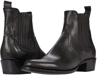 Frye Grady Chelsea (Black Scarlet) Men's Boots