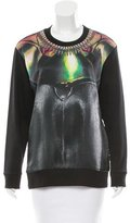 Barbara Bui Digital Print Crew Neck Sweatshirt