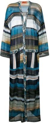 Missoni Long Striped Cardigan
