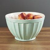 Crate & Barrel Kitchenette Pistachio Large Mixing Bowl