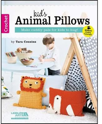 Leisure Arts Kid's Animal Pillows Bk