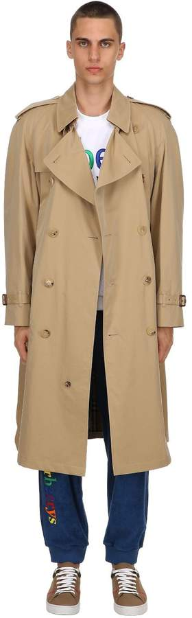 Burberry Westminster Rainbow Check Trench Coat