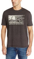 True Grit Men's American Flag Screen Print Tee