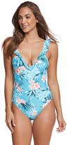 Seafolly Pacifico Deep V One Piece Swimsuit 8160858