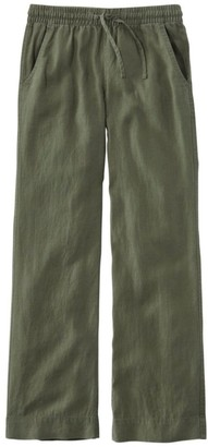 L.L. Bean Women's Premium Washable Linen Pull-On Pants