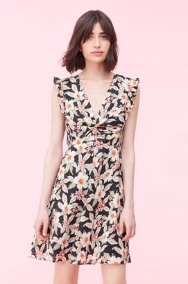 Rebecca Taylor Kamea Fleur Silk Dress