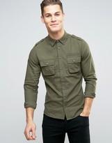 Blend of America Regular Fit Cargo Shirt