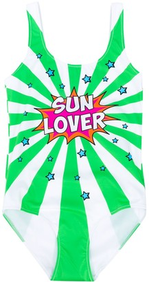 Mc2 Saint Barth Kids TEEN Cara Sun Lover swimsuit