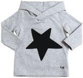 Il Gufo Star Cotton Interlock Hooded T-Shirt
