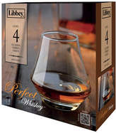 Libbey Set of Four Perfect Whisky Glasses