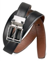 New $125 Polo Ralph Lauren Leather Belt Purplish Brown or Black