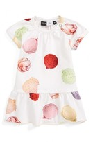 Molo Infant Girl's Cibbe Ice Cream Print Dress