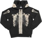 Molo Skeleton Printed Cotton Blend Sweatshirt