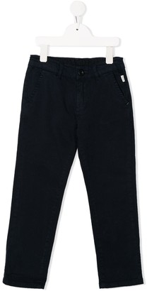 Paul Smith elasticated waist textured trousers