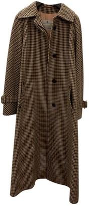 Aquascutum London Beige Wool Coat for Women Vintage