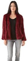 Nicholas Chi Rabbit Fur Jacket