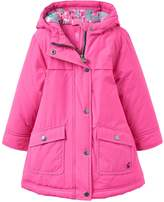 Joules Girls Parka Coat