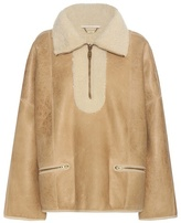 Chloé Shearling-lined bomber jacket