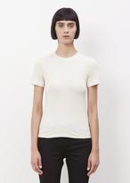 Acne Studios beige melange dorla pc crewneck t-shirt