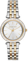 Michael Kors 33mm Mini Darci Two-Tone Bracelet Watch