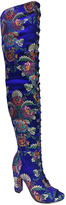 Bamboo Blue Floral Limelight Boot