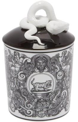 Gucci Guccify Cat Scented Candle - White Multi