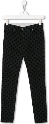 Stella McCartney polka dot jeans